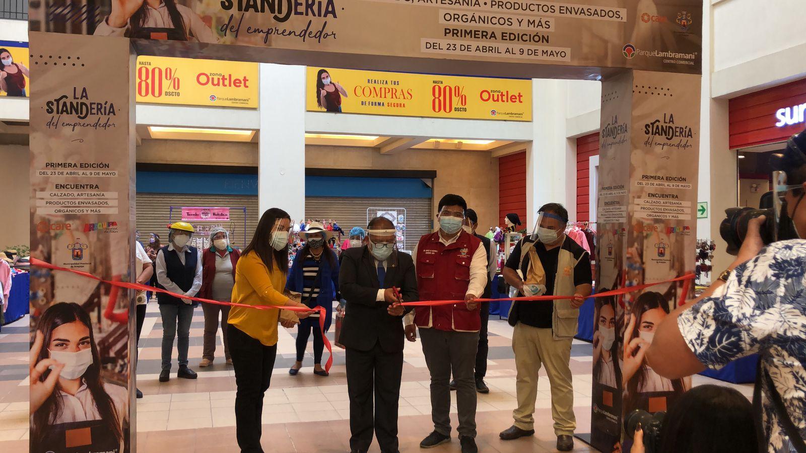"""Hasta el 09 de mayo """"Mujeres Emprendedoras de Arequipa"""" presentarán sus productos en centro comercial Parque Lambramani"""