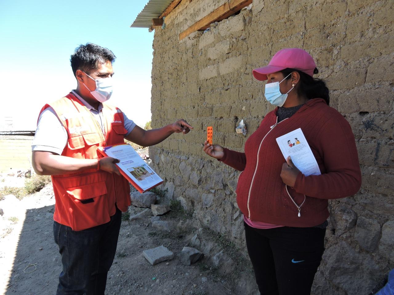 Juntos promueve atención oportuna de gestantes y recién nacidos de hogares afiliados de la región