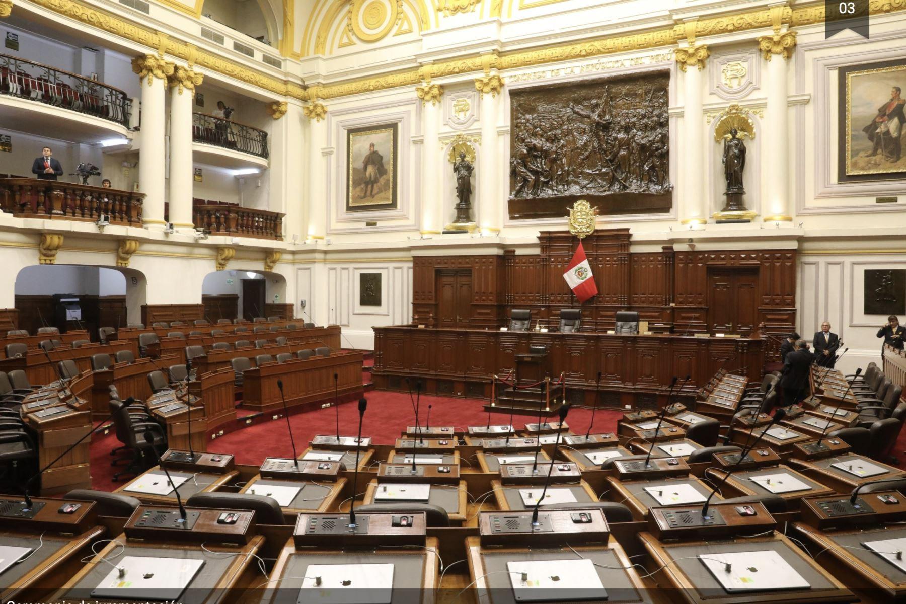 Este medio día JNE entrega credenciales a congresistas electos para periodo 2021-2026