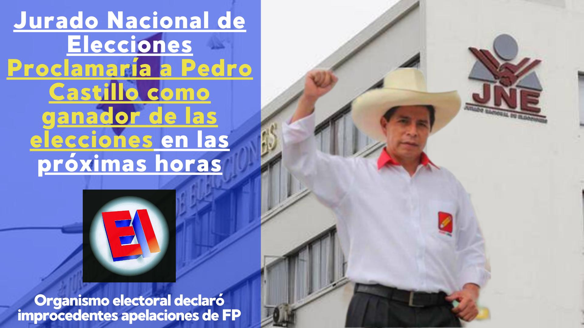 Jurado Nacional de Elecciones anuncia elaboración de Acta de Proclamación de resultados tras culminar revisión de apelaciones de Fuerza Popular