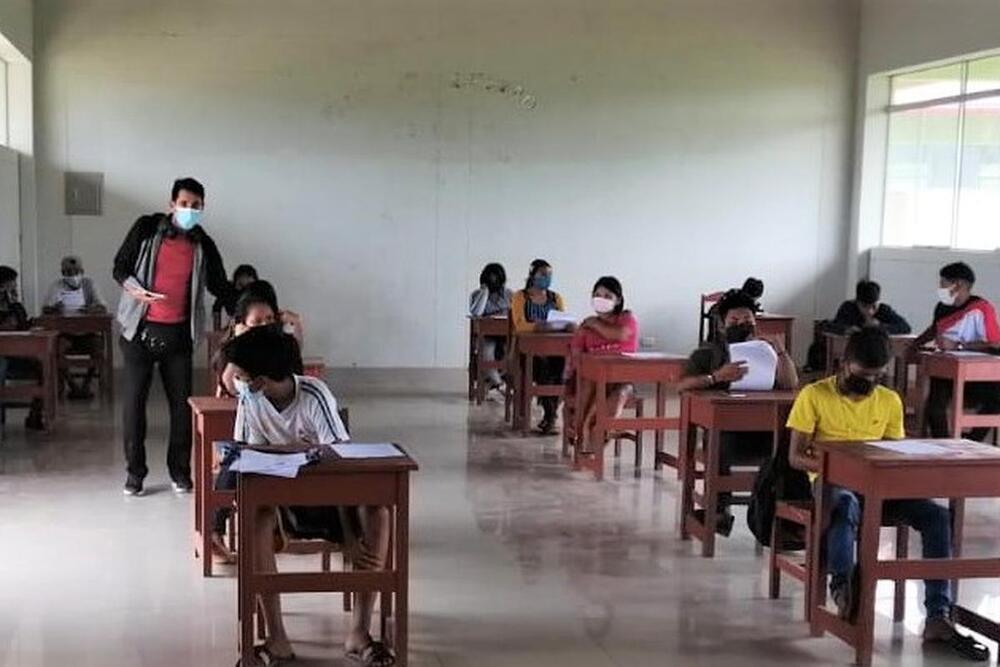 31 escolares y dos familiares mayores de edad dieron positivo a pruebas covid-19 en la provincia de La Unión