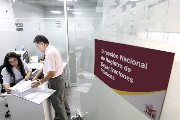 JNE Cancela inscripción de 15 partidos políticos entre los que se encuentran APRA, PPC, UPP, FREPAP