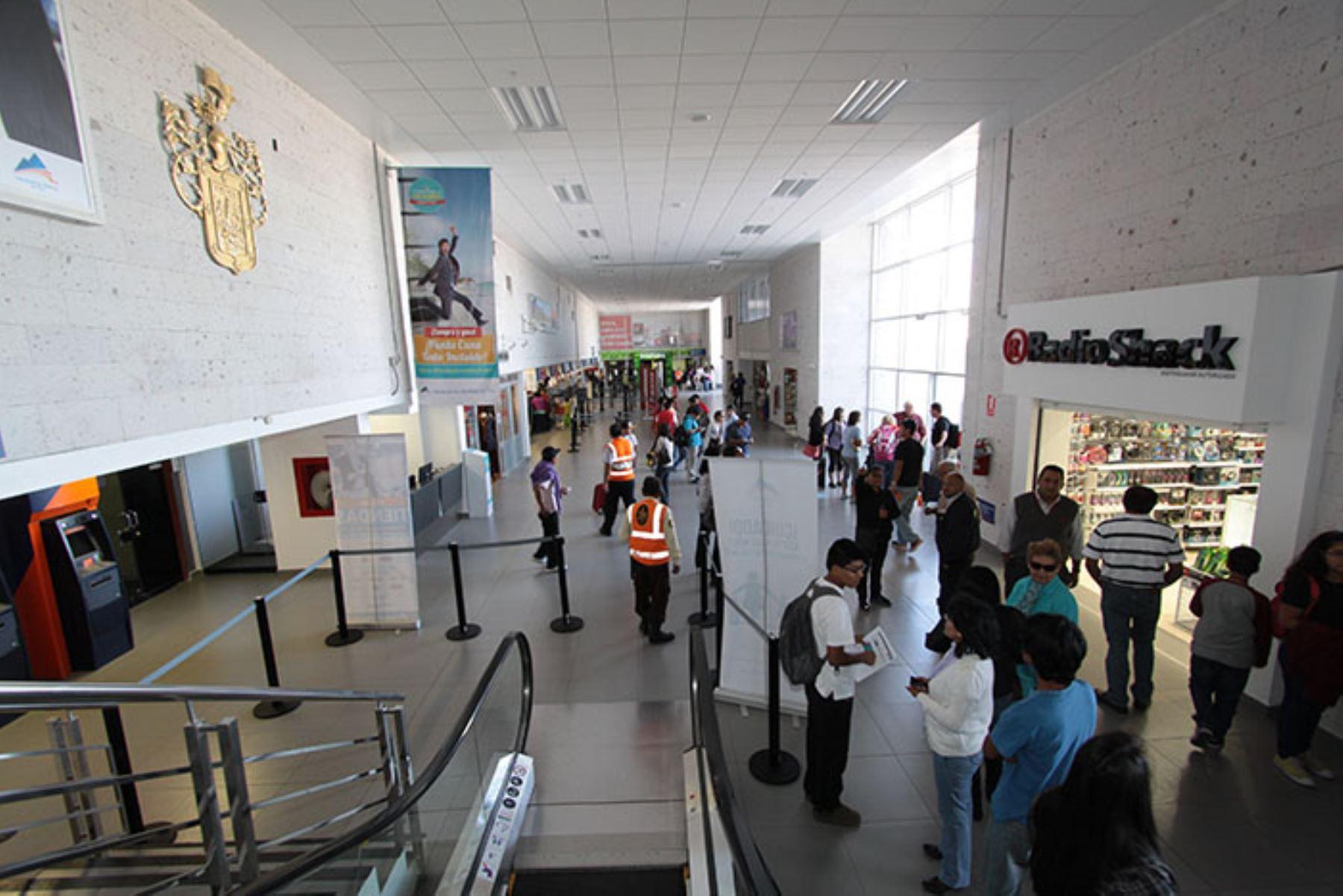 Aeropuerto de Alfredo Rodríguez Ballón ampliará sus ambientes para pasajeros en un 58%
